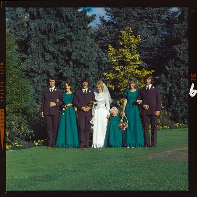 Negative: Wright-Wright wedding; 09 Mar 1974; 2019.10.691