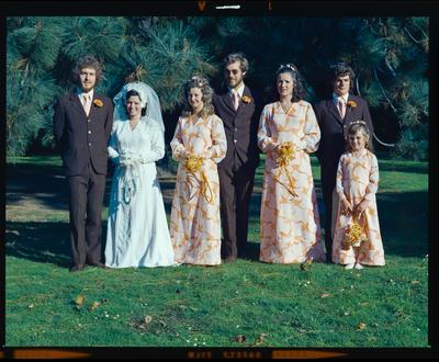 Negative: Williams-McKay wedding; 23 Mar 1974; 2019.10.694