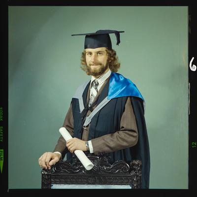 Negative: Mr Alexander graduation