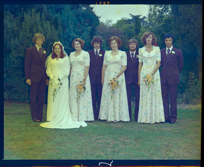 Negative: Sewell-Collins wedding