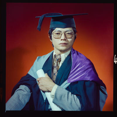 Negative: Mr P. H. Chew graduation