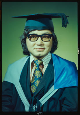 Negative: Mr Chin graduation
