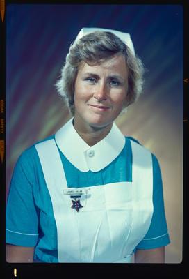 Negative: Miss Dallas nurse portrait