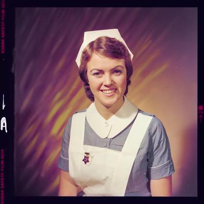 Negative: Miss P. Daly nurse portrait