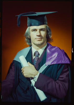 Negative: Mr Gillespie graduation