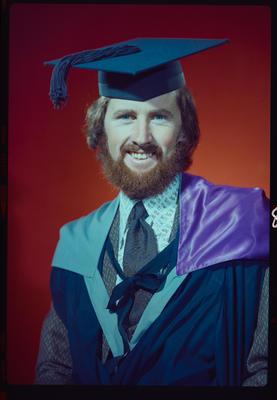 Negative: Mr Johnstone graduation