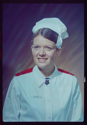 Negative: Mrs Hood nurse portrait