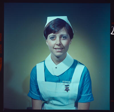 Negative: Miss P. Keating nurse portrait