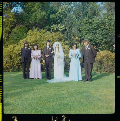 Negative: Jones-Patten wedding