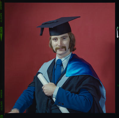 Negative: Mr Martin graduation