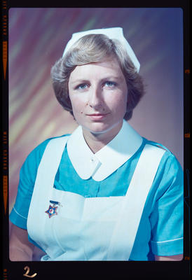 Negative: Miss Moody nurse portrait