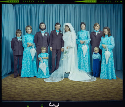 Negative: Otle-Saunders wedding