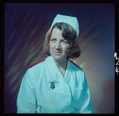 Negative: Miss G. Noldus nurse portrait
