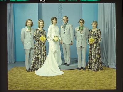 Negative: McGowan-Ruffell wedding