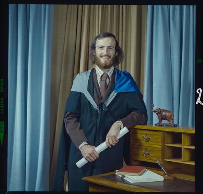 Negative: Mr McGuinness graduation