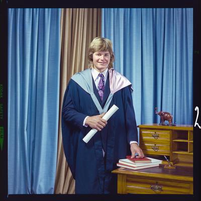 Negative: Mr Sturt graduation
