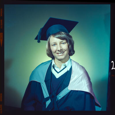 Negative: Miss H. Robertson graduation