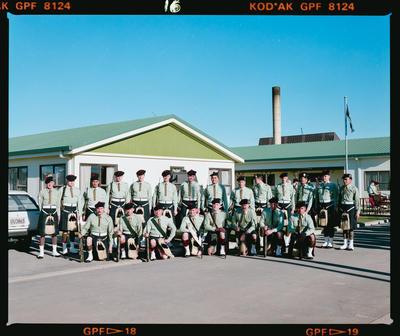 Negative: Burnham Camp Scotts HQ Group