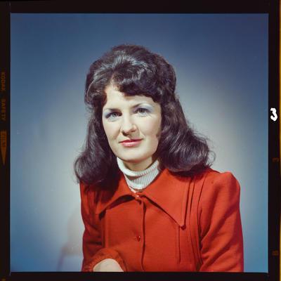 Negative: Miss S. Webb portrait