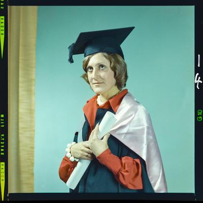 Negative: Miss Jones graduation