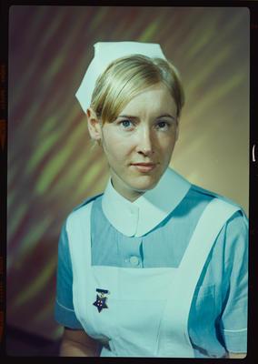 Negative: Miss M. A. Hammond nurse portrait