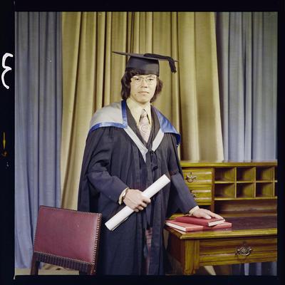 Negative: Mr Wong graduation
