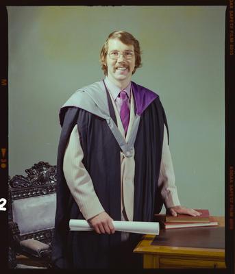 Negative: Mr R. Ayers graduation