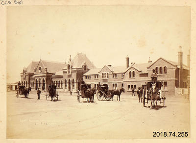 Photograph: Railway Station, Christchurch