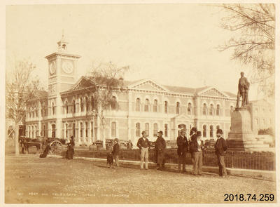 Photograph: Post and Telegraph Office, Christchurch