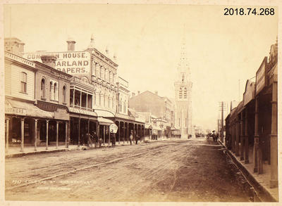Photograph: Colombo Street, Christchurch