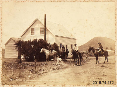 Photograph: Blakes Hotel, Tokaanu, Lake Taupo, King Country