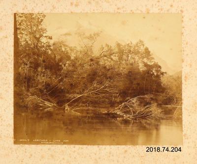 Photograph: Devil's Armchair, Lake Ada