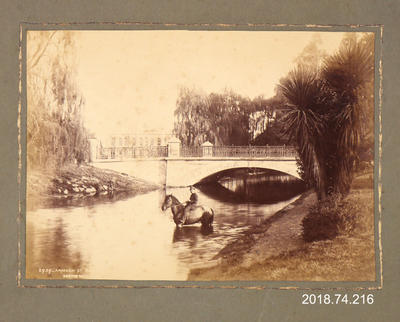 Photograph: Armagh Street Bridge