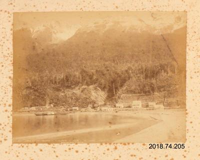 Photograph: Humbolt Range, Kiloch, Head of Lake Wakatipu