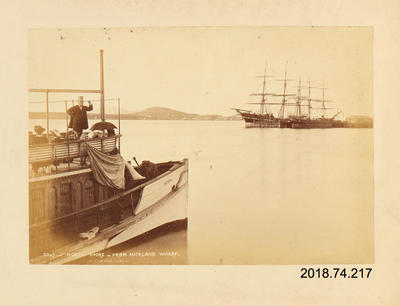 Photograph: North Shore from Auckland Wharf