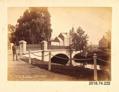 Photograph: Armagh Street Bridge, Christchurch