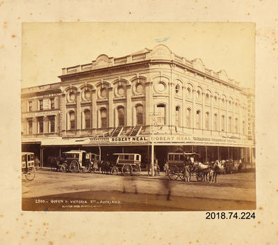 Photograph: Queen and Victoria Street, Auckland
