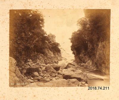 Photograph: Boundary Creek, Lake Wanaka