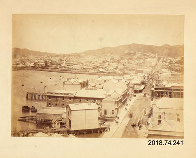 Photograph: Wellington from Post Office Tower