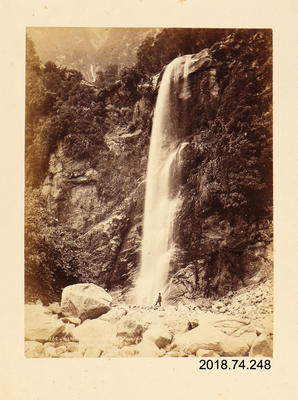 Photograph: Milford Sound Cascade From Mitre