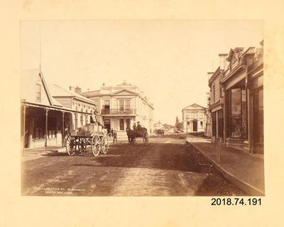 Photograph: Alfred Street, Blenheim