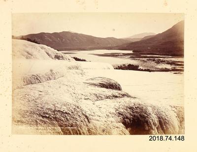 Photograph: Rotomahana from White Terrace