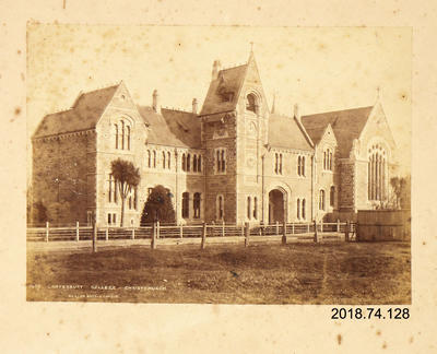 Photograph: Canterbury College, Christchurch