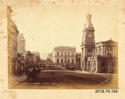 Photograph: Princess Street Dunedin Looking North