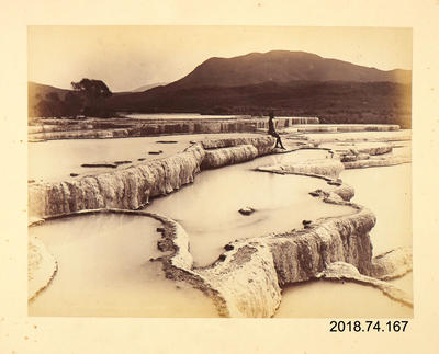 Photograph: The Hot Water Basins, White Terrace