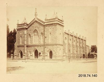 Photograph: Wesleyan Church, Christchurch