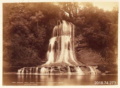 Photograph: Kakahi Fall near Tawhata, Wanganui River