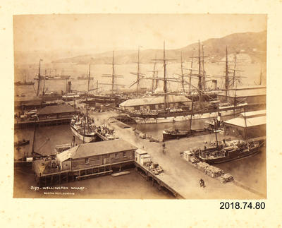 Photograph: Wellington Wharf