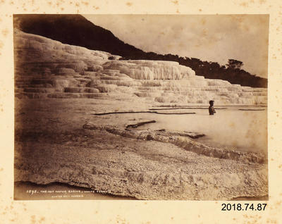Photograph: The Hot Water Basins White Terrace