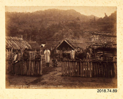 Photograph: Village Scene Koroniti